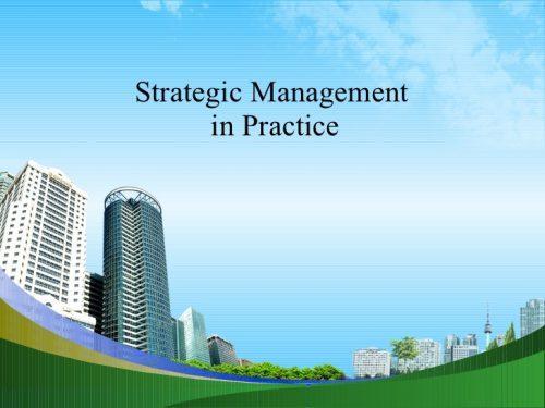 strategic management practices